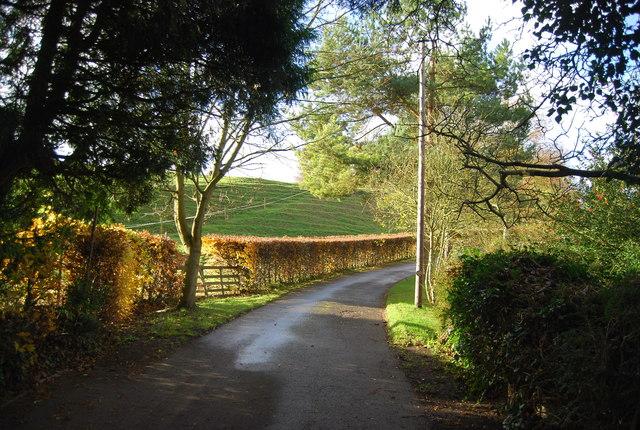 Bridleway off B2010