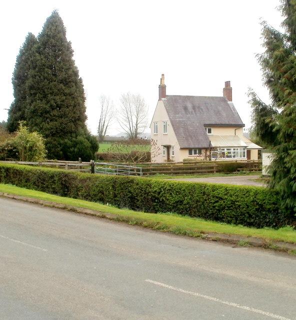 The Arches farmhouse near Caerwent