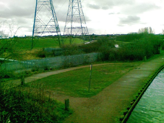 River Lea/Lee Diversion and two Pylons
