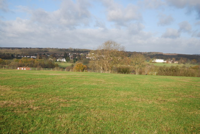 View into the Medway Valley