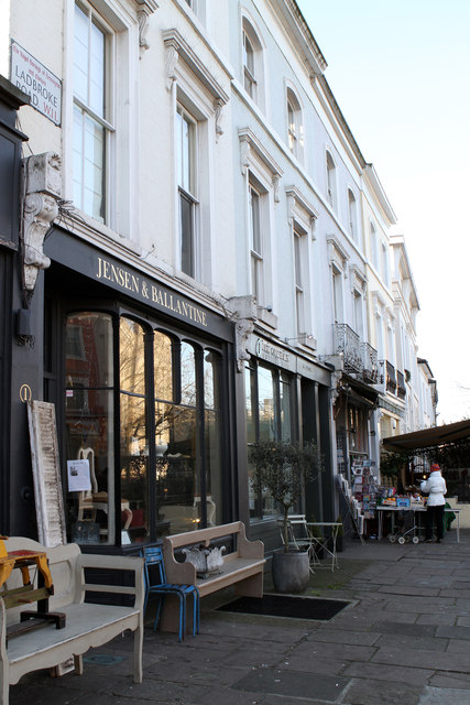Shops on Ladbroke Road