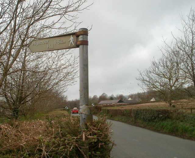 This way to Highmoor Hill from Caerwent