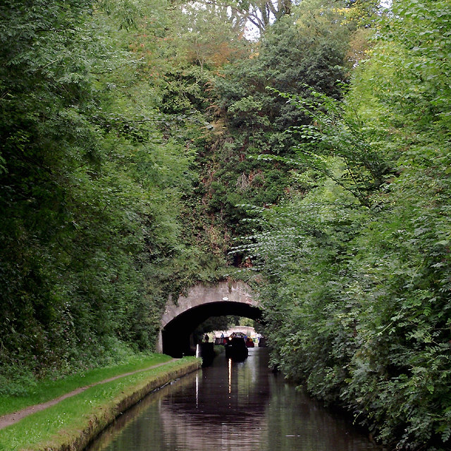 Cowley Tunnel south of Gnosall, Staffordshire