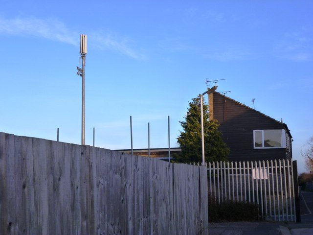 Telecommunication Mast at the Football Ground