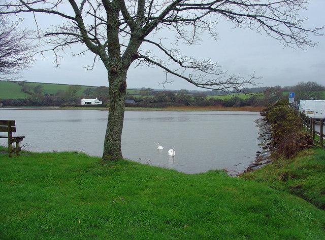 Nyfer Estuary: high tide