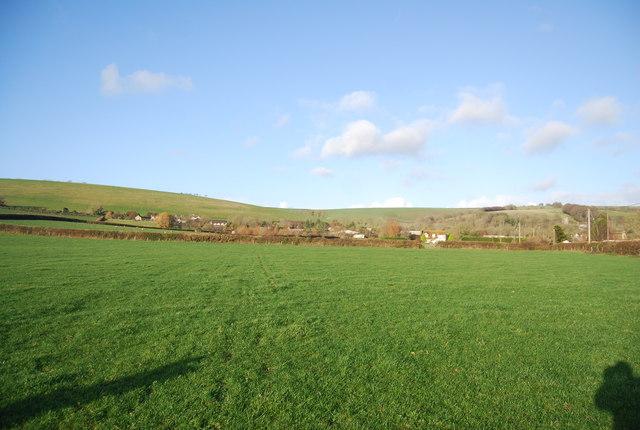 Farmland west of Litton Lane