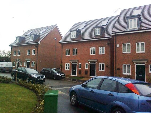 Housing development, Perryfields