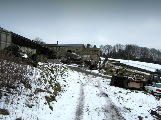 Hag Farm in Winter