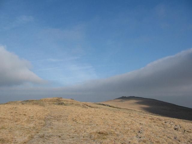 Ridge, north of Oke Tor