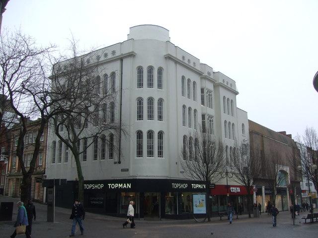 Topshop Topman Nottingham