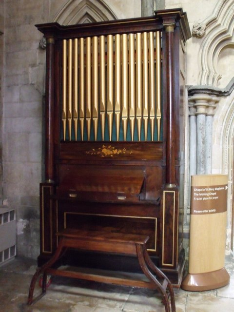 Chamber Organ, Lincoln Cathedral