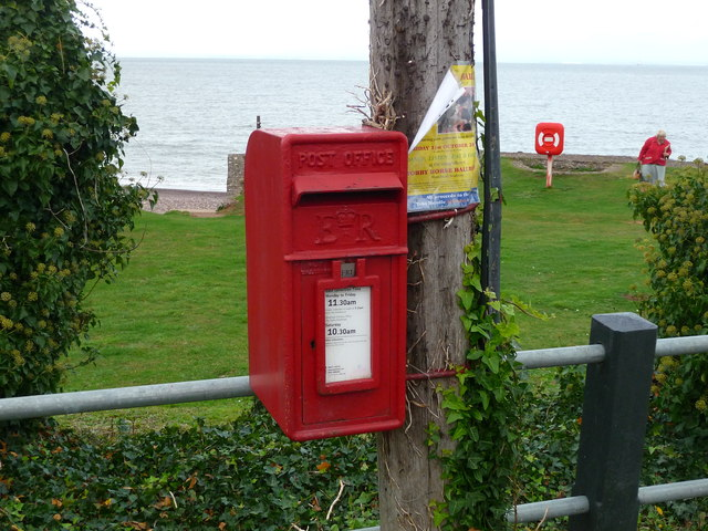 Blue Anchor - Postbox
