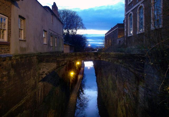 The Bridge of Sighs at Night