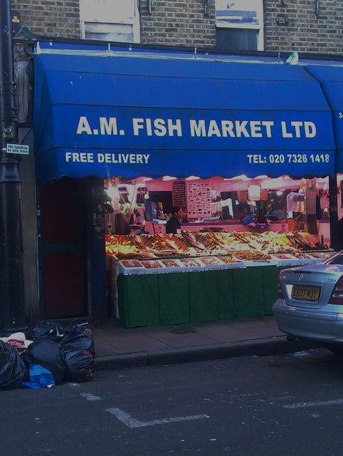 AM Fish Market, Atlantic Road SW9