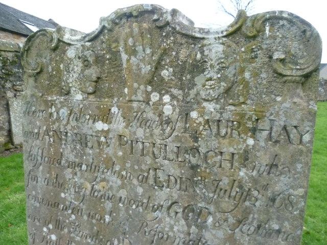 Covenanters Grave detail