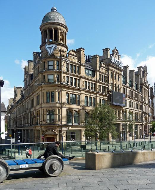 Former Corn Exchange, Exchange Square, Manchester