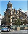 SJ8398 : Former Corn Exchange, Exchange Square, Manchester by Stephen Richards