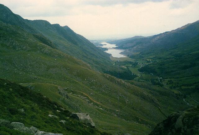 View to Llanberis