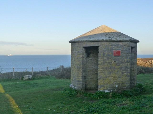 Former Sentry Box, Berry Head