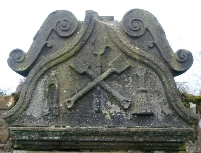 Sculpted stone, Cupar Kirkyard