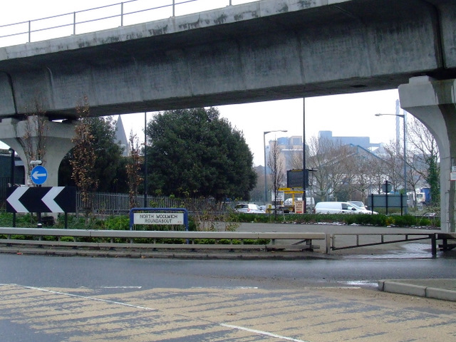 North Woolwich Roundabout