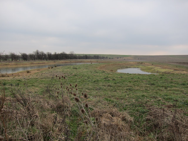 Pools by Cottenham landfill site