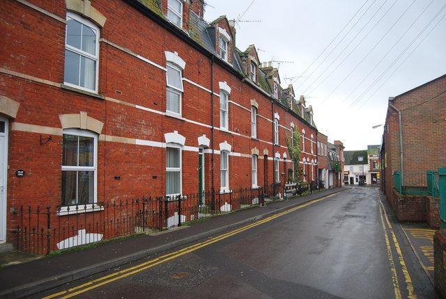 Terraced houses, Victoria Grove