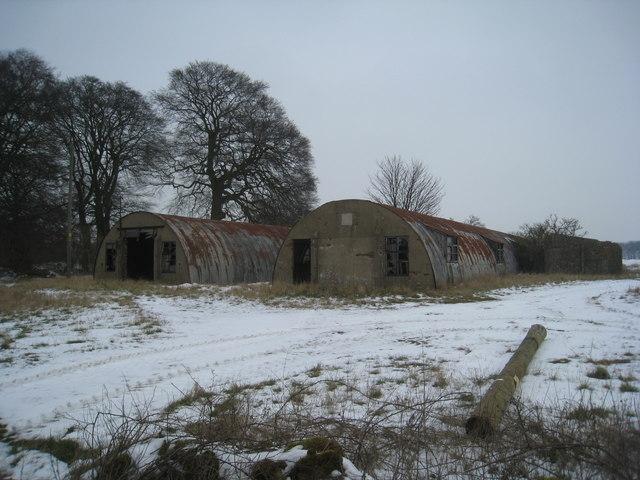 Corrugated iron sheds