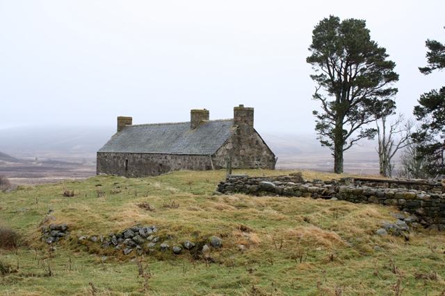 Ruined mill at Easter Crannich
