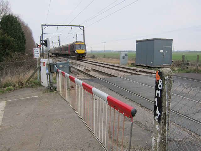 Cross Country train at Little Thetford