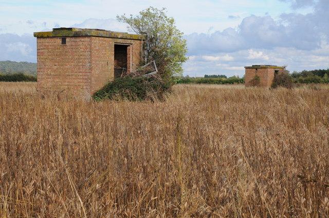 Remains of RAF Comberton