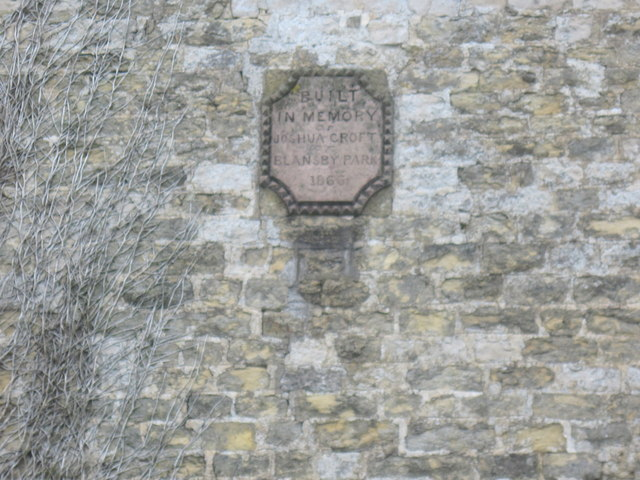 Plaque  on  Howlgate  Farmhouse