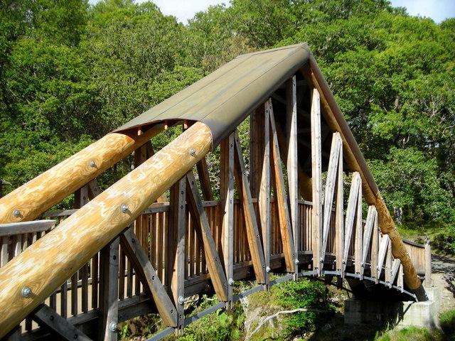 Bridge at Bracklinn Falls