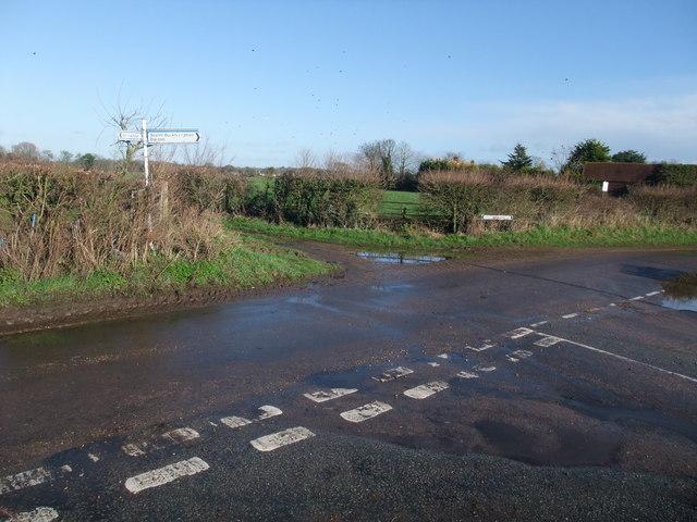 Hawthorn Road joining Bockhampton Road