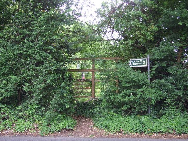 Footpath, Canford Magna