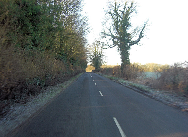 Minor road between Kingsclere and Whitchurch