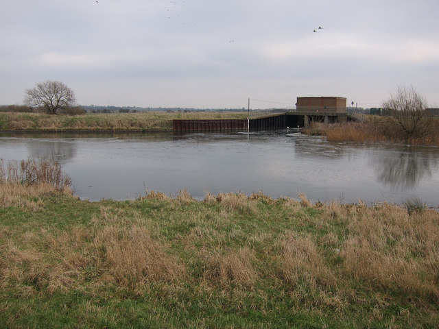 Soham Lode joining River Great Ouse