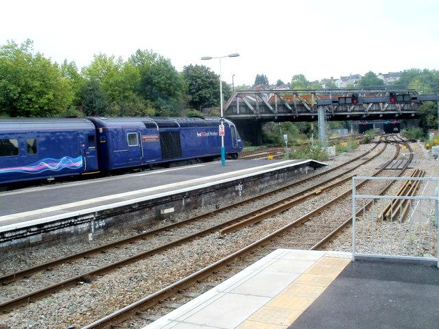 Exeter Panel Signal Box at Newport railway station