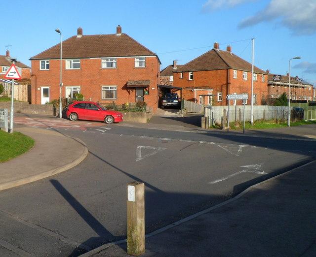 Corner of St David's Road and Llwynu Lane, Abergavenny