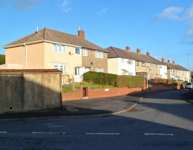Vale View houses, Abergavenny