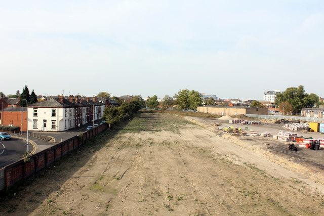 Old coal yard