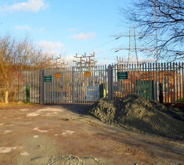 Old Hereford Road electricity substation, Abergavenny