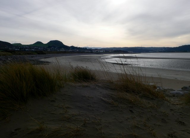 View towards Deganwy from the All Wales Coastal Path