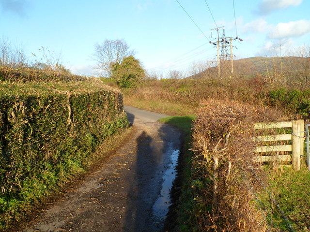 NE end of Deri Road, Abergavenny
