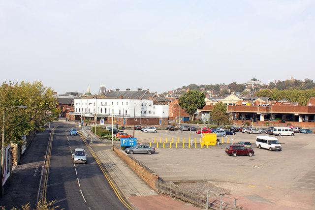 Oxford Street car park