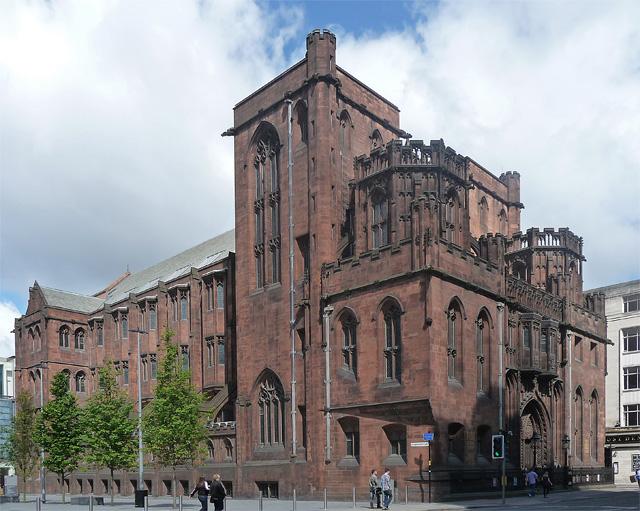 John Rylands Library, Deansgate, Manchester