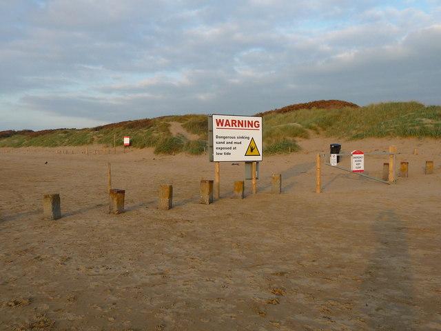 Berrow - Warning Sign