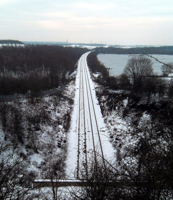 Fairburn Railway Line and Ings