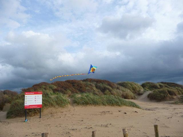 Berrow - Kite In The Dunes