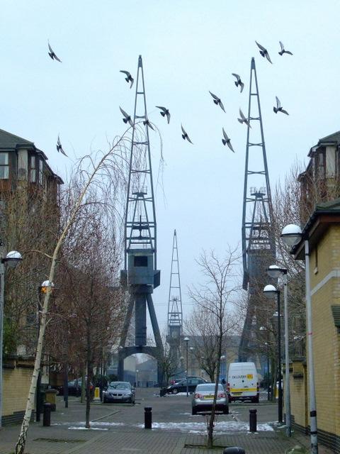 Cranes at Royal Victoria Dock